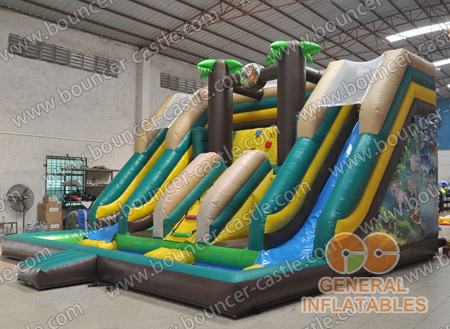 Jungle 5 in 1 combo inflatable